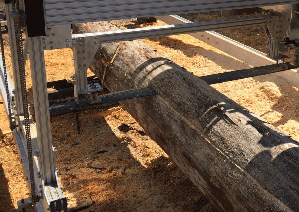 Cutting Lumber With Mill