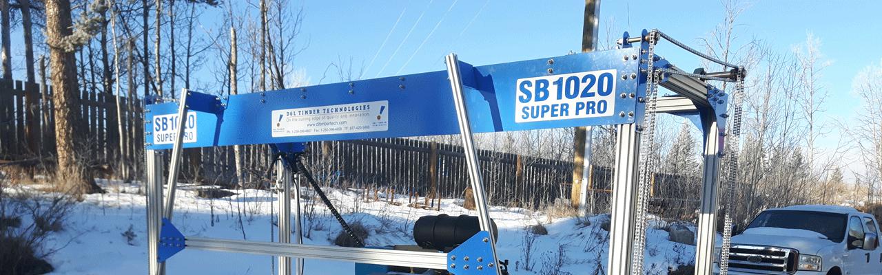 SB 10 20 Portable Sawmill