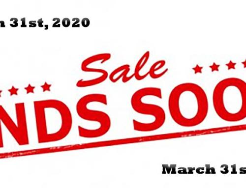 Sawmill Sale Ends March 31st 2020